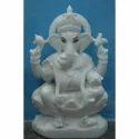White Ganesh Statue