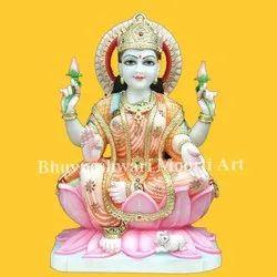 Marble Goddess Laxmi Ji Statue