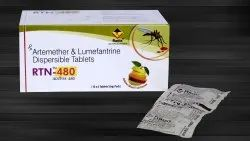 Artemether 80 mg & Lumefantrine 480  mg (Dispersiible Tablet)