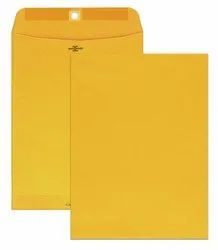 A4 Size Yellow Laminated Envelopes