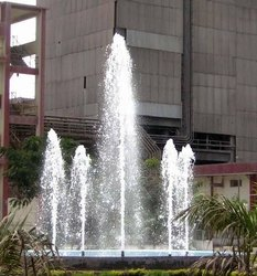 Nirmal Fountains Brass 1 Inch Garden Geyser Fountain