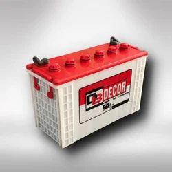 Decor Tubular E-Rickshaw Battery, Voltage: 12 V