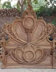 Creation Cherry Wood Double bed designing, For Hotel