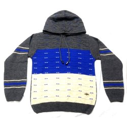 Hooded Boys Woolen Sweater