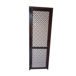 Brown Aluminium Bathroom Door