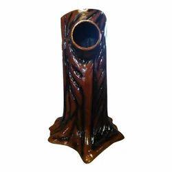FRP Wooden Finish Dustbin