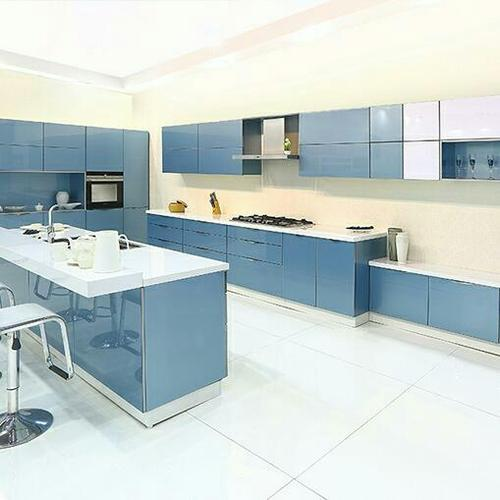 Kitchen Cabinets Uganda: Island Kitchen Glass Shutters