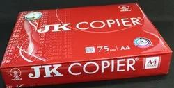 White A4 Copier JK Red 75 GSM