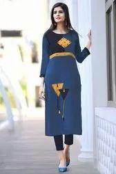 Pr Fashion Launched Casual Wear Readymade Straight Kurti