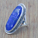 Sapphire Stone Royal Jewelry 925 Sterling Silver Ring