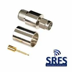 SMA Male Crimp Connector For LMR400 Cable