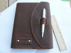 Leather Journal With Pen