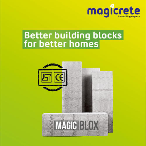 MagicBlox (Thermally Insulated Magicrete AAC Blocks) :