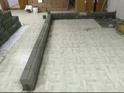 Interlocking Concrete Bricks for Side Walls, Size: 11 L x 6 B x 5 H