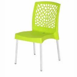 485x587x805 mm Green Nilkamal Plastic Chairs