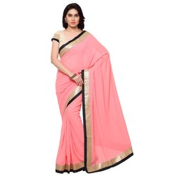 Ladies Cotton Party Wear Saree