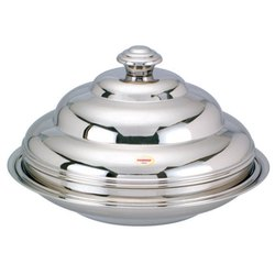 Stainless Steel Step Serving Dishes