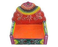 Decorative Multi-Colored God Goddess Aasan