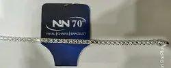 NN 70 Casual Wear Silver Patta Chain, 10-50 Gm
