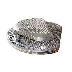 Perforated Heat Exchanger Plate
