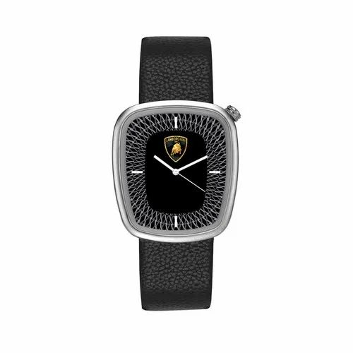 Black Promotional Wrist Watch