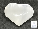 Selenite Hearts Stone