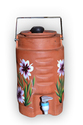 Earthen water jug ( 3 liter )