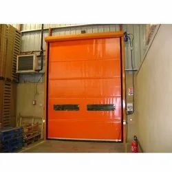 Color Coated High Speed PVC Door Roll Up Door ffor Industrial, Interior
