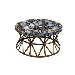 Agate Stone Table