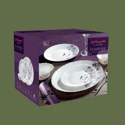 Glass, Opal Ware Laopala Diva Dinner Set 27 Pcs, For Home
