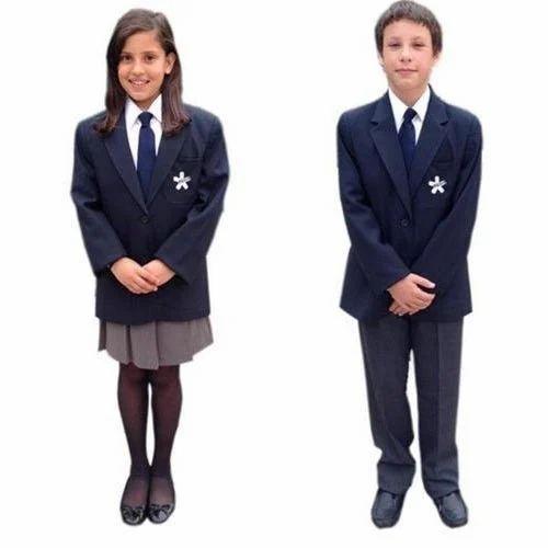 Boys  Girls School Uniform Blazer Suit - School Uniform -4947