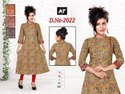 Cotton Printed Airline Kurti