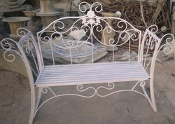 Wrought Iron Designer Sofa