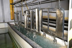 Indotech Aluminium & Steel Powder Coating Plant, Depends, Automation Grade: Manual