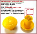 Rebar Mushroom Safety Caps