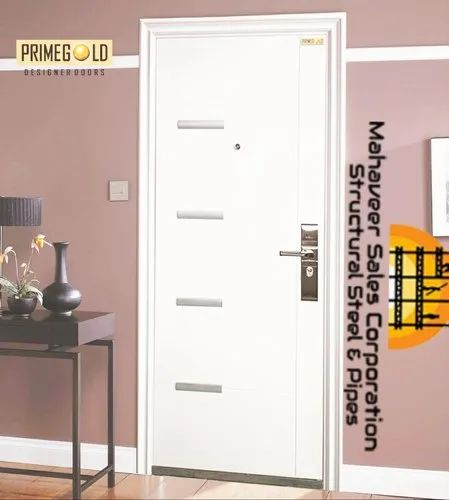 Hinged Stainless Steel Metal Doors, Thickness: 70 mm