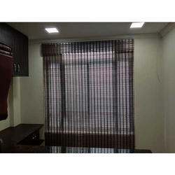 Brown Roman Bamboo Blind for Home