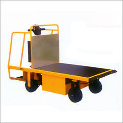 Platform Truck with Block Wheels