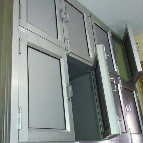 Silver Aluminum Kitchen Cabinets Rs 300 Square Feet Ajay Enterprises Id 16134015133