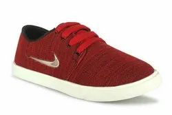 C8 Red Casual Shoes