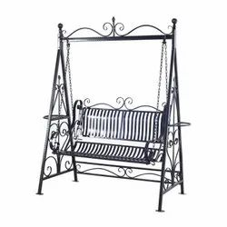 Black Fancy Garden Swing