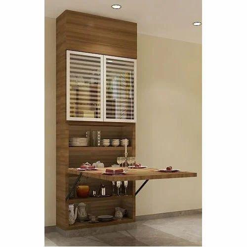 cheap for discount f4ad7 68ed7 Wall Table & crockery/storage unit - XLSpace, Mumbai | ID ...