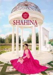 Latest Ghaghra Style Designer Salwar Kameez Catalog RSF Shahina Vol-3