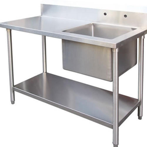 Stainless Steel Table Sink Shape Square Rs 19500 Piece