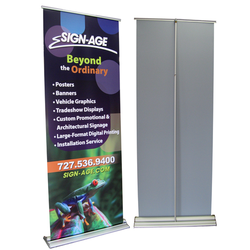 Multicolor Advertising Roll Up Standee