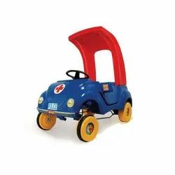 Blue,Red And Yellow 4 Wheeler Kids Plastic Car