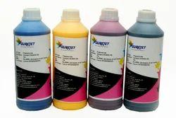 Surejet C M Y Mk Pk Pigment Inks For Epson T7270/T5270/T3270, Pack Size: 1liter