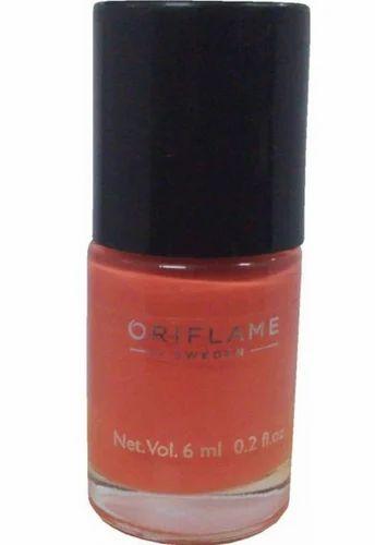 Oriflame Colour Nail Paint Mini Peach Pink 6 Ml Pack Size 6 Ml Rs 100 Piece Id 18744504588