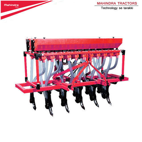 35 HP onwards Mahindra SD-CT-11 Tractor Operated Seed Cum Fertilizer Drill, For Agriculture
