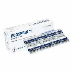 Aspirin/Acetylsalicylic Acid (75mg) Ecosprin Tablet